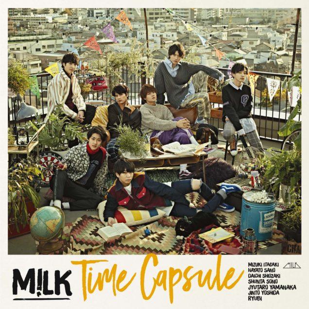 """M!LK  2ndALBUM  """"Time Capsule"""""""